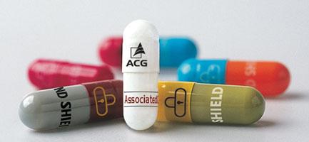 ACG portfolio - nabídka tvrdých želatinových kaplsí